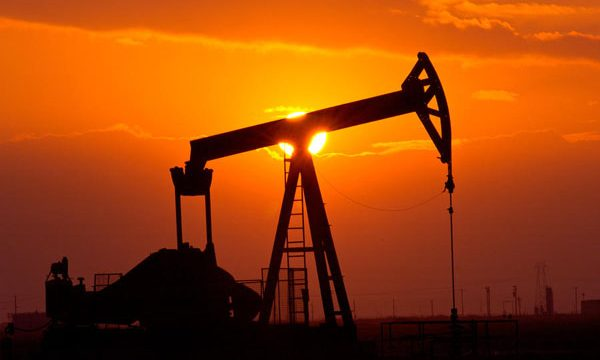 pumping-oil-rig-at-sunset-connie-cooper-edwards